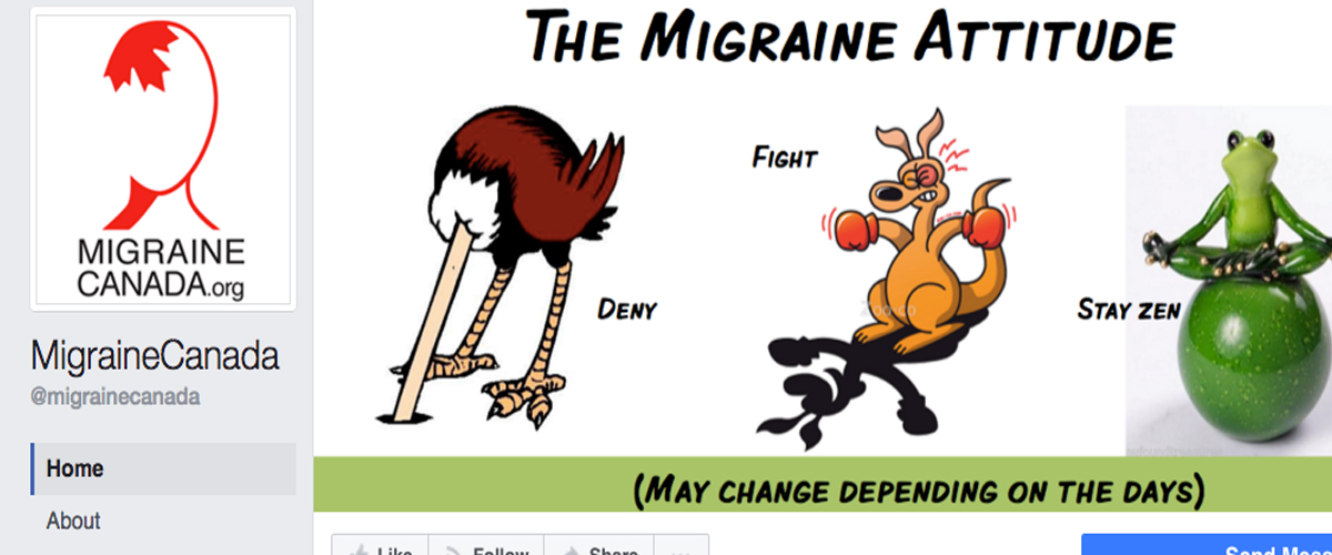 Migraine Canada is on Facebook